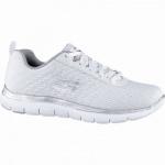 Skechers Flex-Appeal 2.0 coole Damen Mesh Sneakers white, Skechers Air Cooled Memory Foam-Fußbett, 4240188/36