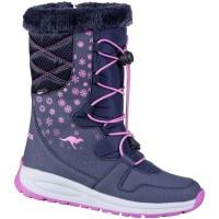 KANGAROOS K-Glaze RTX Mädchen Winter Synthetik Boots navy, molliges Warmfutte... - Vorschau 5