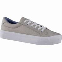 Canadians coole Damen Synthetik Sneakers beige, softe Decksohle, 30 mm Platea... - Vorschau 4