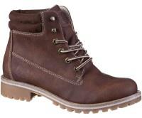 JANE KLAIN Damen Synthetik Boots brown, Fleecefutter, weiche Super Soft Decks... - Vorschau 5