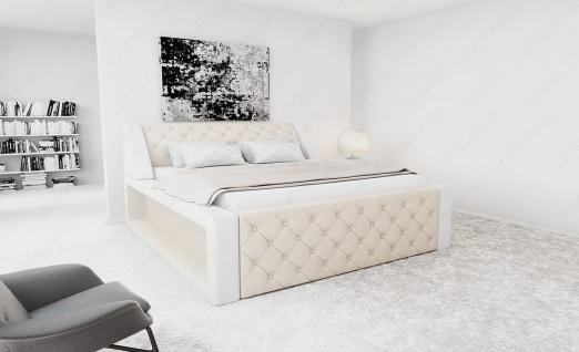 Modernes Designerbett Arezzo mit LED Beleuchtung - Vorschau 2