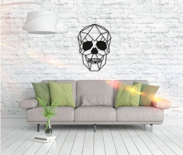 Metall Wandbild - Skull - Vorschau