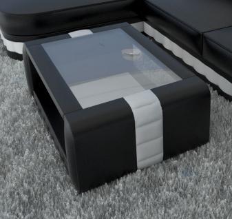 Leder Couchtisch Bellagio als Wohnzimmertisch für ihr Sofa