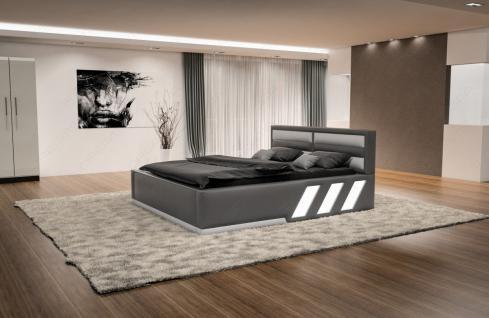 Design Komplettbett Apollonia inklusive Matratze und Lattenrost - Vorschau 2