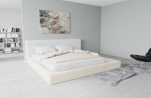 Modernes Designerbett Rimini mit LED Beleuchtung - Vorschau 2
