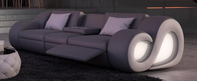 3 Sitzer Sofa Nesta mit Beleuchtung - Vorschau 4