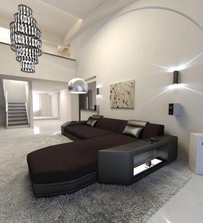 Sofa Prato in Stoff als L Form Ecksofa auch mit Bettfunktion - Vorschau 2