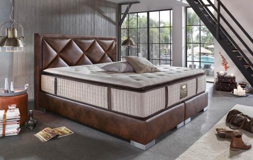 Modernes Boxspringbett Plaza mit Premium Matratze 180x200 - auch andere Größen verfügbar - Vorschau 2