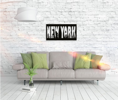 Metall Wandbild - New York