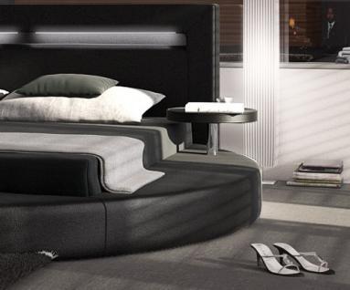 Designer Rundbett Night in schwarz 180 x 200 cm - Vorschau 2