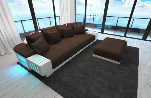 Sofa Bellagio als modernes Bigsofa mit LED Licht - Kaufen ...