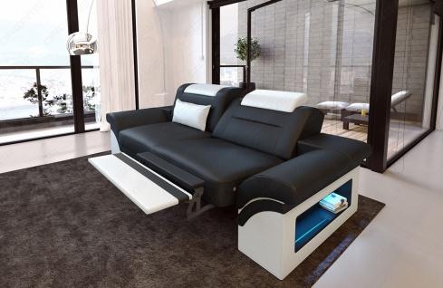 Modernes Sofa Monza als 2 Sitzer Couch mit Beleuchtung - Vorschau 4