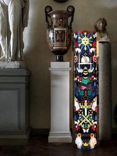 Designer Lampe Faena Art mit stabilem Metallrahmen