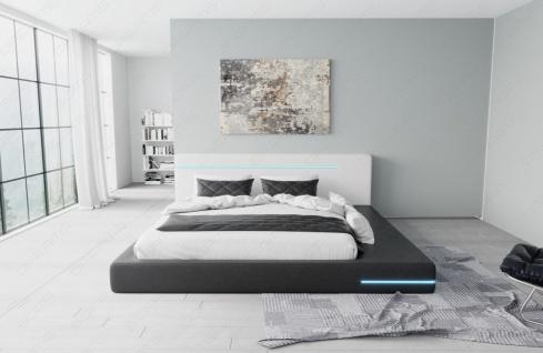 Modernes Komplettbett Rimini mit LED Beleuchtung - Vorschau 5