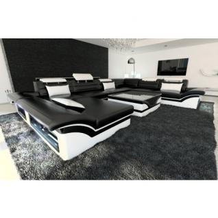 xxl wohnlandschaft leder g nstig kaufen bei yatego. Black Bedroom Furniture Sets. Home Design Ideas