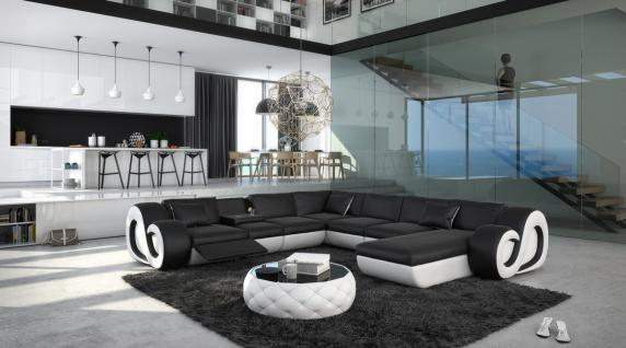 Sofa Wohnlandschaft Nesta U Form