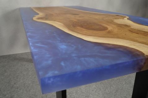 Couchtisch Holz Epoxidharz Mix Sky - Vorschau 2