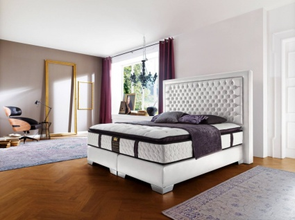 Luxus Boxspringbett Palace 180x200 - auch andere Größen verfügbar
