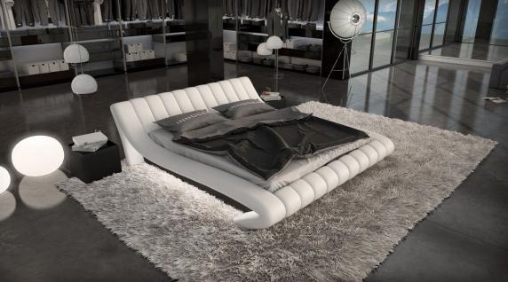 Komplettbett Ferrara mit Matratze und Lattenrost 180 x 200 cm - 200 x 200 cm - 200 x 220 cm