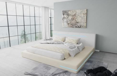 Modernes Komplettbett Rimini mit LED Beleuchtung