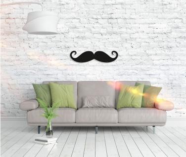 Metall Wandbild - Mustache - Vorschau