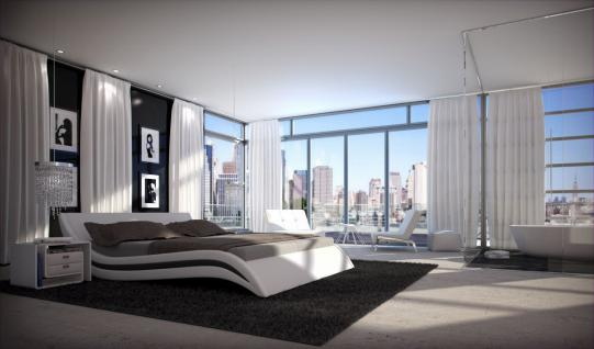 designer bett accent bettgestell 140x200 160x200 180x200 200x200 200x220 kaufen bei pmr. Black Bedroom Furniture Sets. Home Design Ideas