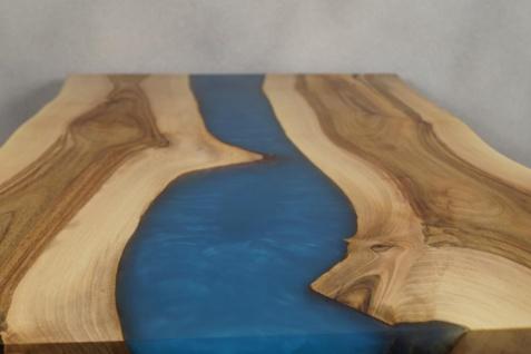 Couchtisch Holz Epoxidharz Mix Crystal - Vorschau 5
