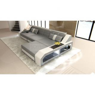 sofa grau wei g nstig sicher kaufen bei yatego. Black Bedroom Furniture Sets. Home Design Ideas