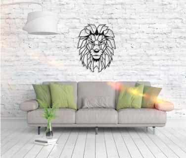 Metall Wandbild - Lion Head - Vorschau