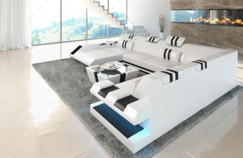 Design Wohnlandschaft Apollonia in XXL auch mit Bettfunktion - Vorschau 2
