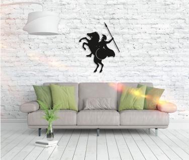 Metall Wandbild - Pferd Spartan