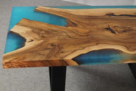 Couchtisch Holz Epoxidharz Mix River - Vorschau 4