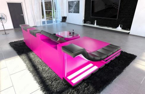 Sofa Turino in Leder als modernes L Form Ecksofa - Vorschau 4