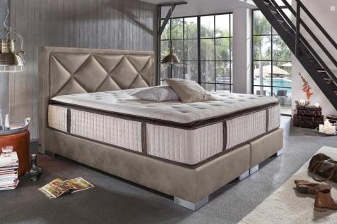 Modernes Boxspringbett Plaza mit Premium Matratze 180x200 - auch andere Größen verfügbar - Vorschau 3