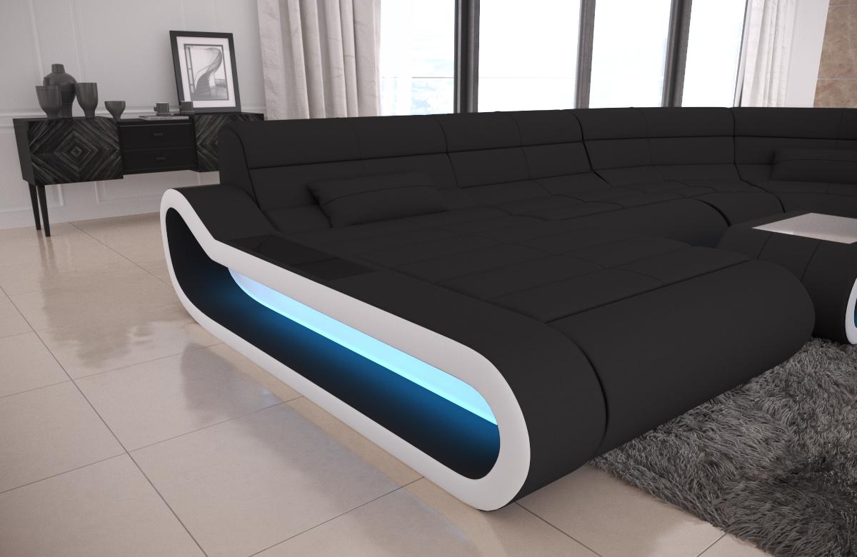 Big Sofa Concept U Form Stoff Mix Xxl Kaufen Bei Pmr