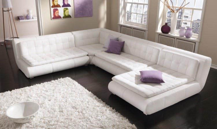 Modernes Echtleder Sofa Exit Ten Als U Form Kaufen Bei Pmr