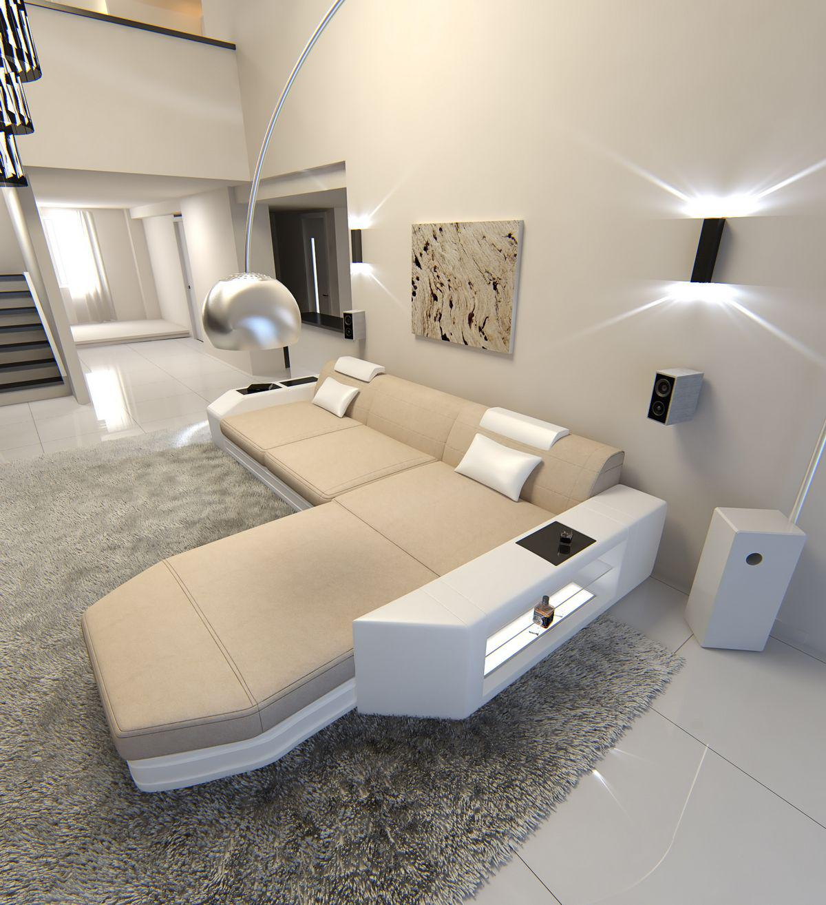 Fabelhaft Sofa L Form Mit Schlaffunktion Galerie Von Prato In Stoff Als Ecksofa Auch Bettfunktion