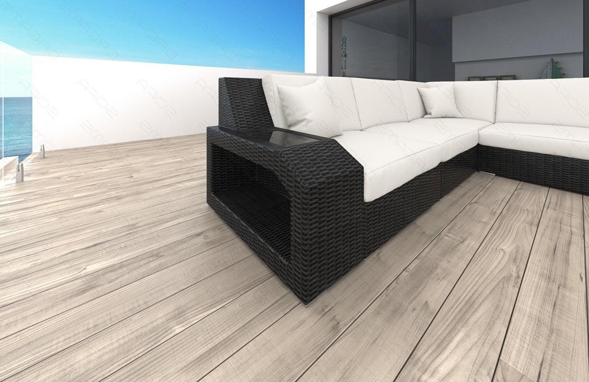 Modernes Rattan Sofa Matera als Designer U Form ...