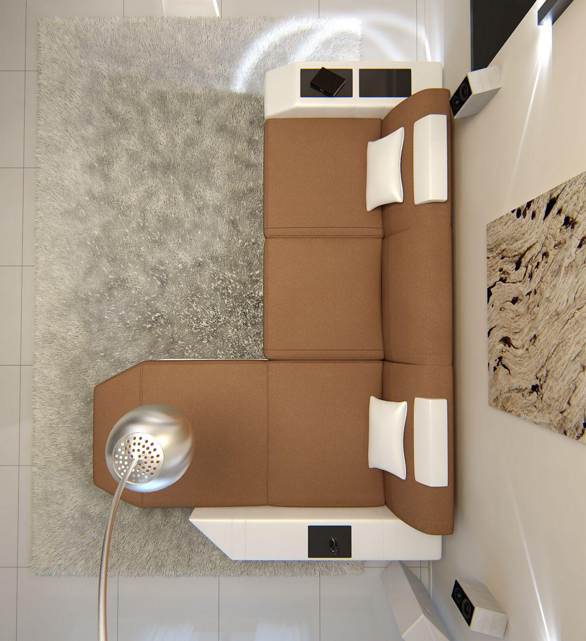 Sofa Prato in Stoff als L Form Ecksofa auch mit ...