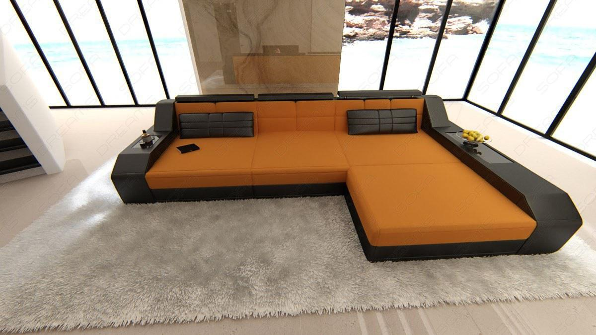 polster couch arezzo in l form auch mit schlaffunktion. Black Bedroom Furniture Sets. Home Design Ideas