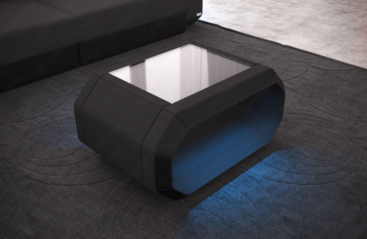 couchtisch roma mit moderner led beleuchtung kaufen bei pmr handelsgesellschaft mbh. Black Bedroom Furniture Sets. Home Design Ideas