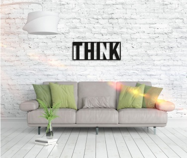 Metall Wandbild - Think