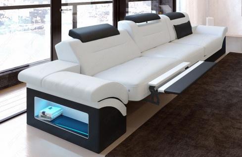 Modernes Sofa Monza als 3 Sitzer Couch mit Beleuchtung - Vorschau 4