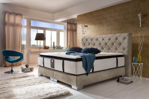 Boxspringbett Residence modern 180x200 - auch andere Größen verfügbar - Vorschau 1