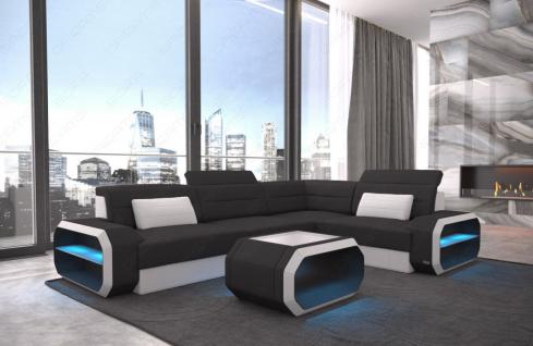 eckcouch leder g nstig sicher kaufen bei yatego. Black Bedroom Furniture Sets. Home Design Ideas