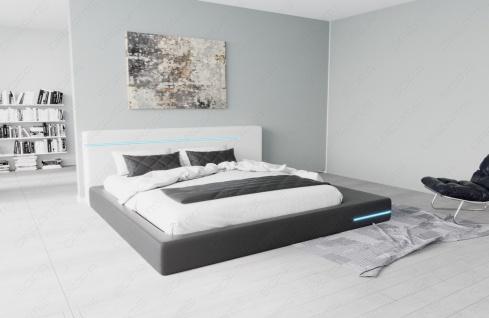 Modernes Komplettbett Rimini mit LED Beleuchtung - Vorschau 2