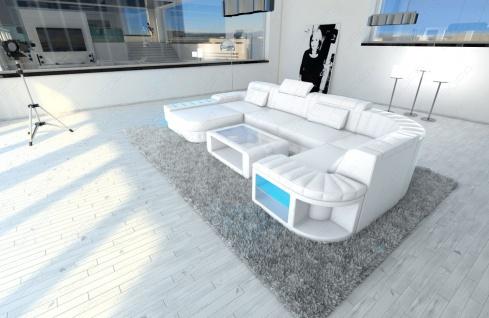 Design Wohnlandschaft Bellagio in U Form mit Kopfstützen - Vorschau 4
