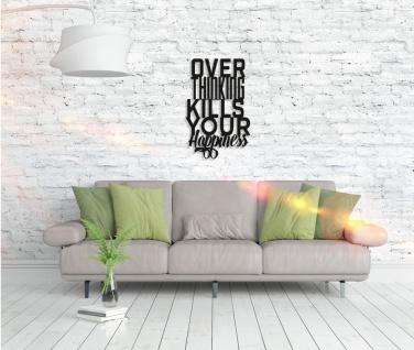Metall Wandbild - Over Thinking - Vorschau