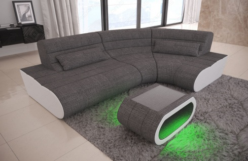 Stoff Couch Concept Mini in der L Form