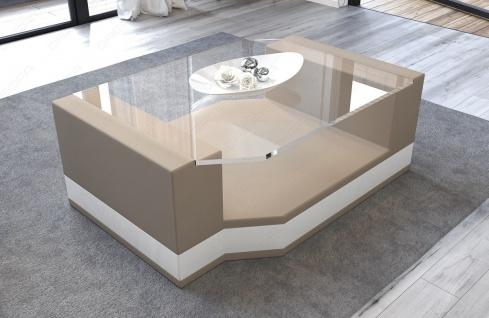 Couchtisch Messana mit einer Tischplatte aus Sicherheitsglas - Vorschau 2
